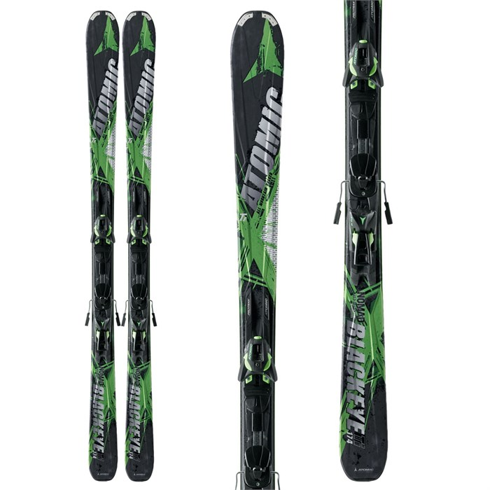 Atomic - Blackeye Ti Skis + XTO 12 Demo Bindings - Used 2013
