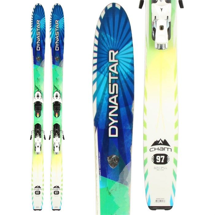 Dynastar - Cham 97 Skis + XTE 12 Demo Bindings - Used 2013