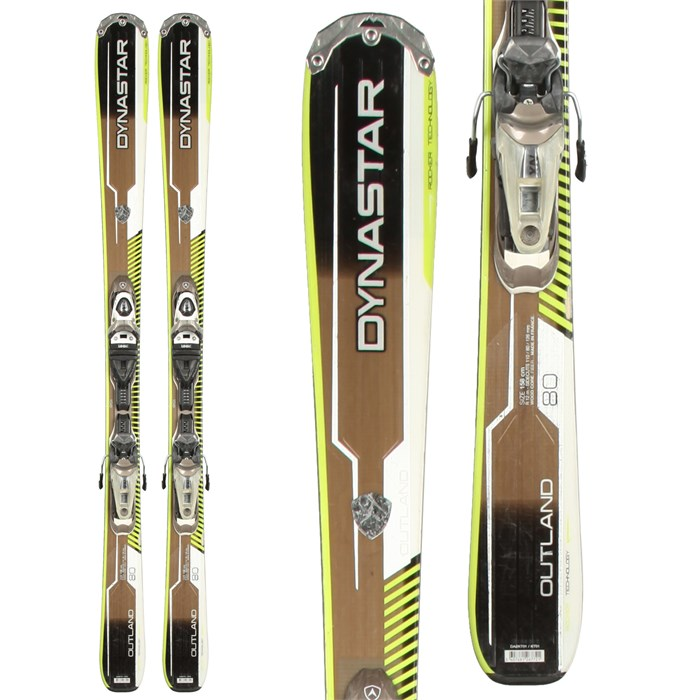 Dynastar - Outland 80 Skis + NX11 Demo Bindings - Used 2013