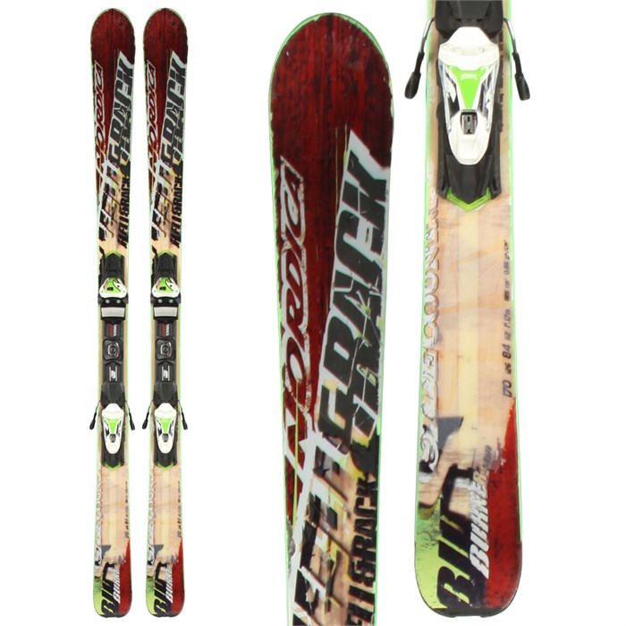Nordica - Burner Skis + N Evo 11 Demo Bindings - Used 2013