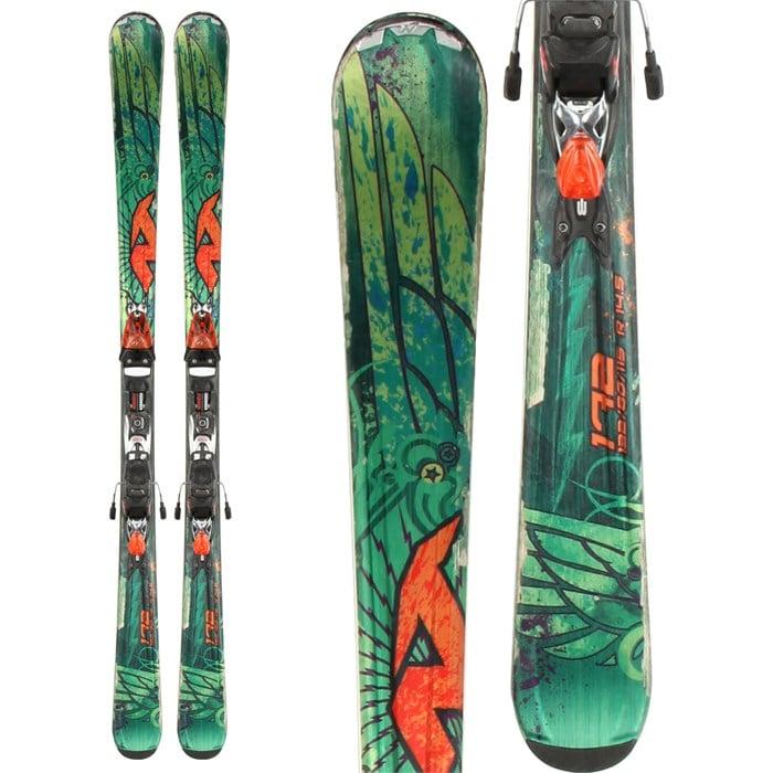 Nordica - Fire Arrow Skis + Exp 25 Demo Bindings - Used 2013