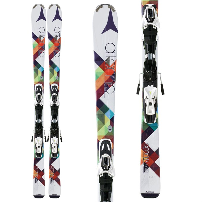 Atomic - Affinity Air Skis + XTO 10 Demo Bindings - Used - Women's 2013