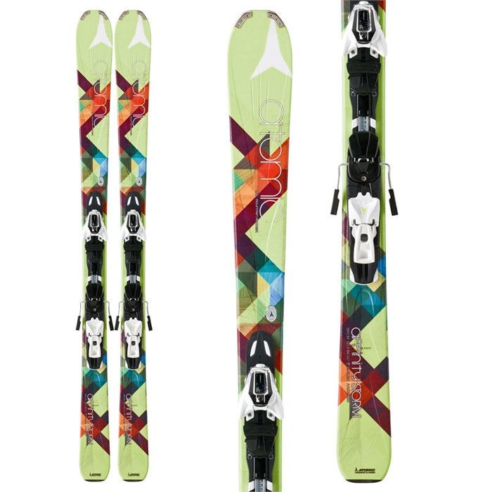 Atomic - Affinity Storm Skis + XTO 10 Demo Bindings - Women's 2013