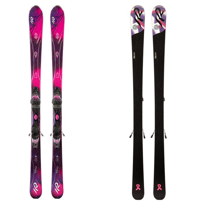 K2 - Superfree Skis + Marker MX 10 Demo Bindings - Used - Women's 2013