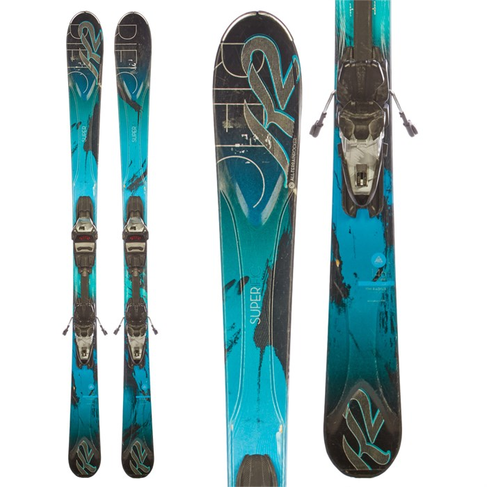 K2 - Superific Skis + Marker MX 11 Demo Bindings - Used - Women's 2014