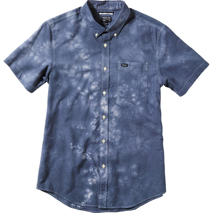 RVCA - That'll Do Tye Dye Short-Sleeve Button-Down Shirt