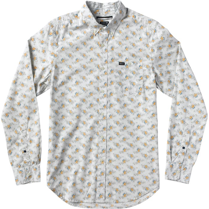 RVCA - Fever Flower Long-Sleeve Button-Down Shirt