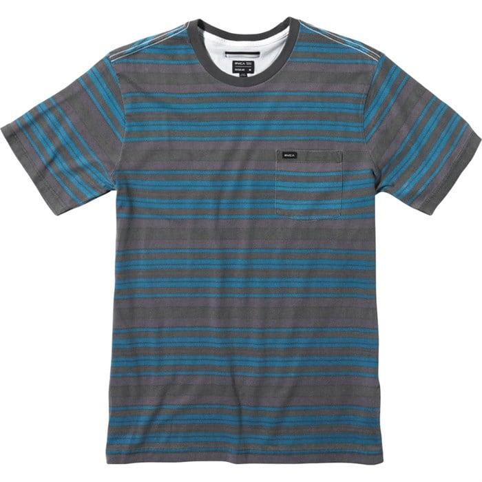RVCA - Hairy Stripe Crew T-Shirt
