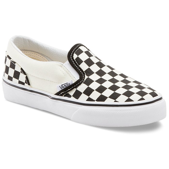vans shoes black and white checkered
