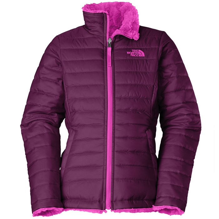 The North Face - Reversible Mossbud Swirl Jacket - Girl's