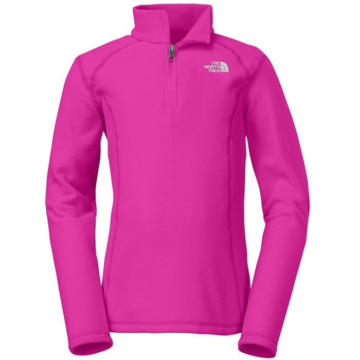 The North Face - Glacier 1/4 Zip Fleece - Girl's