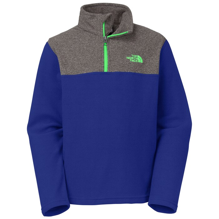 The North Face - Glacier 1/4 Zip Fleece - Boy's