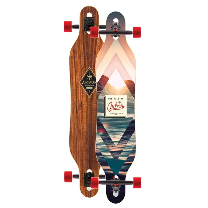 Arbor - Axis Drop Through Longboard Complete