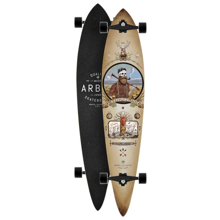 Arbor - Timeless Pin GT Longboard Complete
