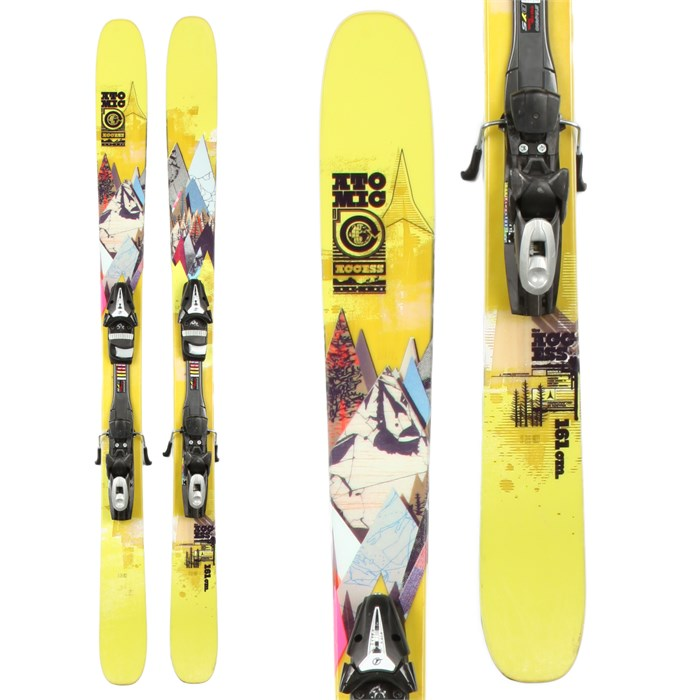 Atomic - Access Skis + Tyrolia SP 100 Demo Bindings - Used 2011