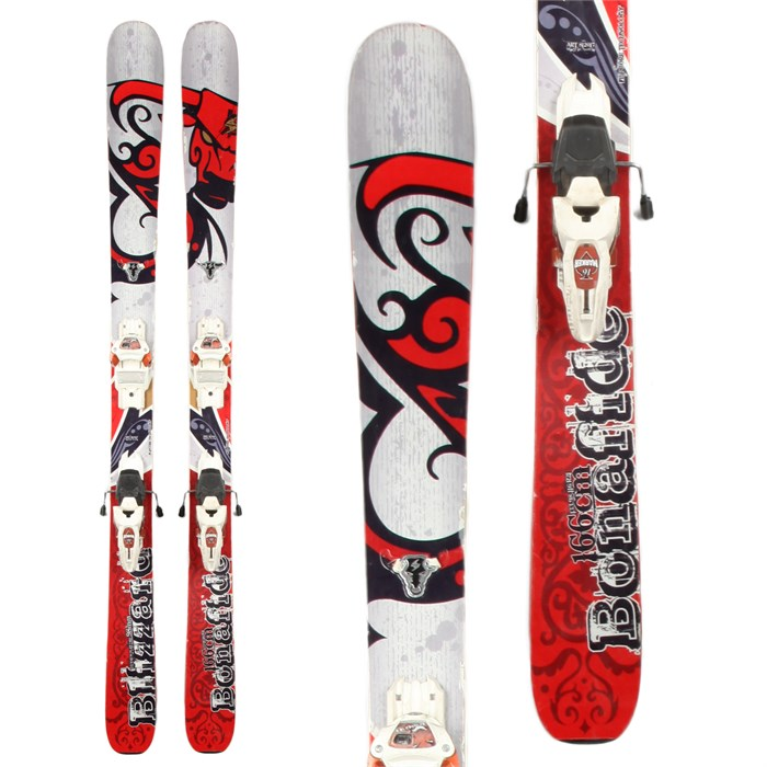 Blizzard - Bonafide Skis + Marker Jester Demo Bindings - Used 2012