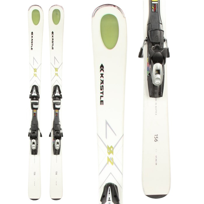 Kastle - LX 82 Skis + Tyrolia SP 100 Demo Bindings - Used 2012