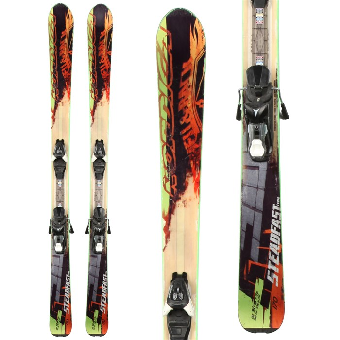 Nordica - Nordica Steadfast Skis + Atomic XT 10 Demo Bindings - Used 2013