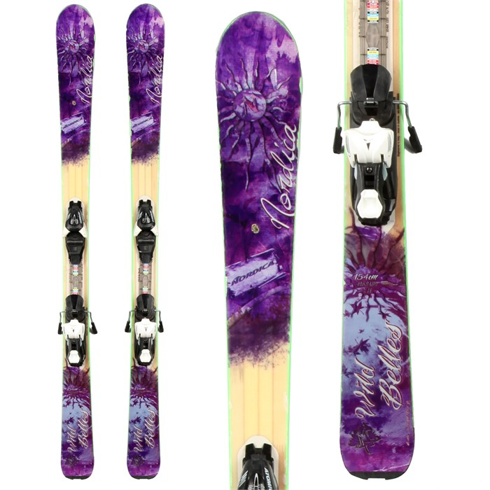 Nordica - Wild Belles Skis + Atomic XT 7 Demo Bindings - Used - Women's 2013