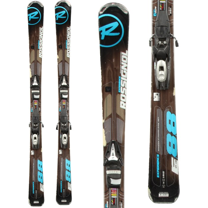 Rossignol - Experience 88 Skis + Tyrolia SP 100 Demo Bindings - Used 2012