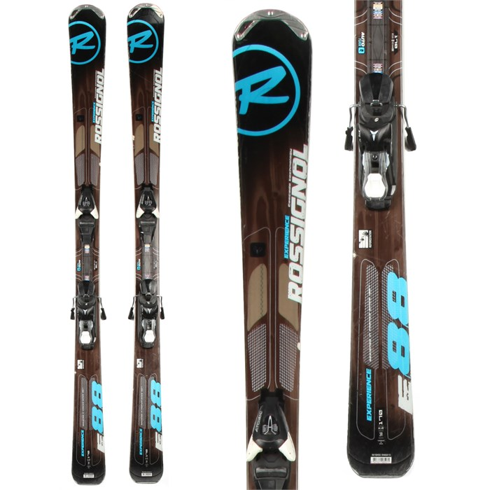 Rossignol - Experience 88 Skis + XT 10 Demo Bindings - Used 2013