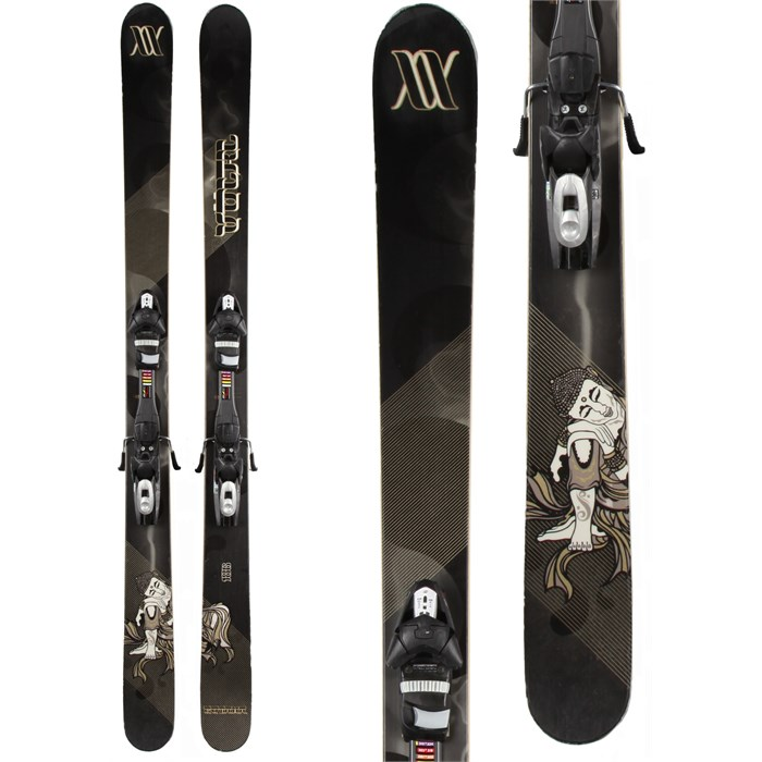 Volkl - Gotama Skis + Tyrolia SP 120 Demo Bindings - Used 2012