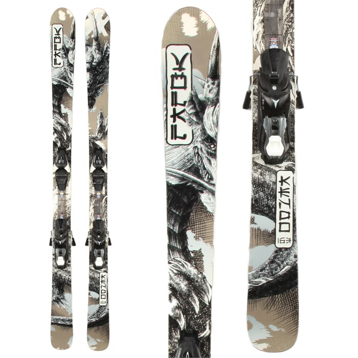 Volkl - Kendo Skis + Atomic XT 10 Demo Bindings - Used 2013