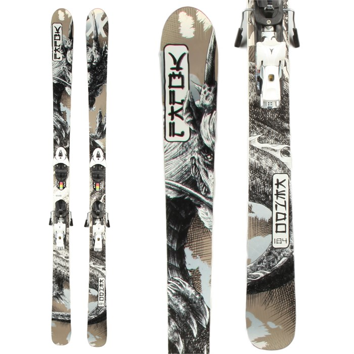 Volkl - Kendo Skis + Atomic XT 12 Demo Bindings - Used 2013