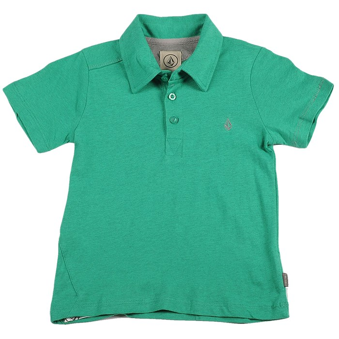 Volcom - Wowzer Polo Shirt (Ages 4-7) - Boy's
