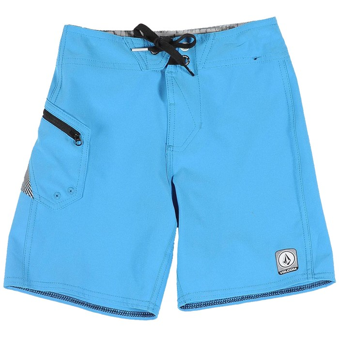 Volcom - Lido Solid Boardshorts (Ages 4-7) - Boy's