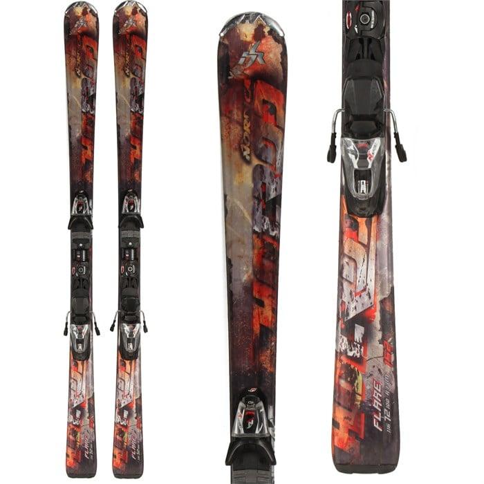 Nordica Hot Rod Flare Ca XCT Skis + IPT 12 Demo Bindings