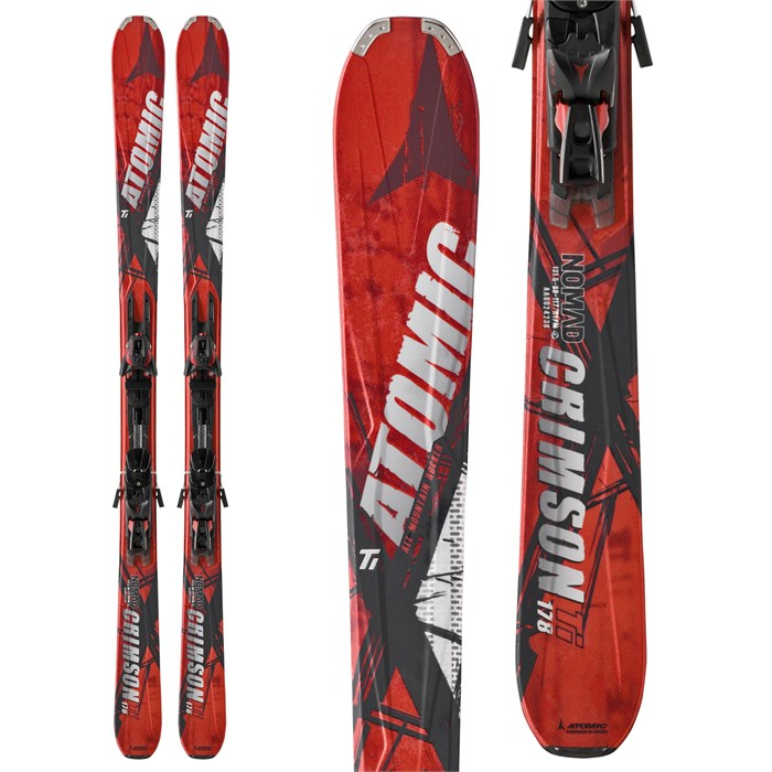 Atomic - Crimson Skis + XTO 12 Demo Bindings - Used 2012
