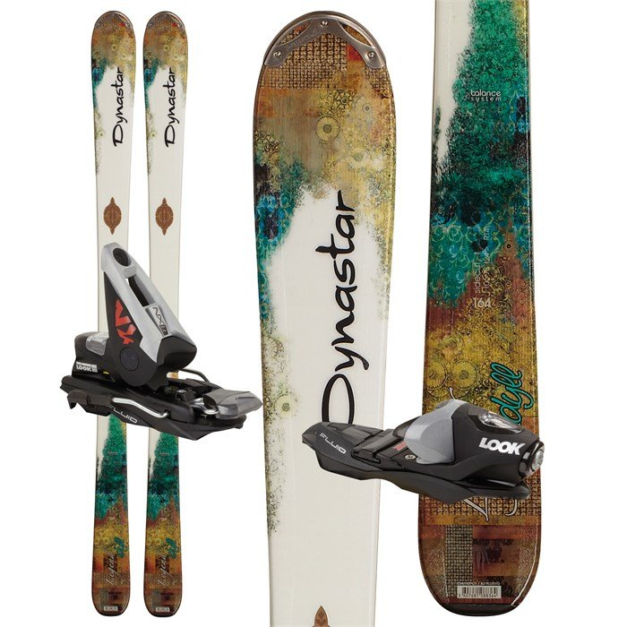 Dynastar - Exclusive Legend Idyll Skis + NX 11 Fluid Demo Bindings - Women's 2011