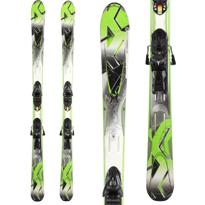 K2 - A.M.P. Photon Skis + EVOX 7 Demo Bindings - Used 2012