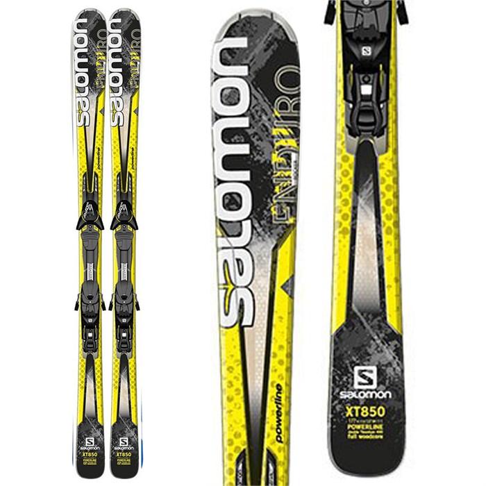 Salomon - Enduro XT 850 Skis + Z12 Demo Bindings - Used 2013