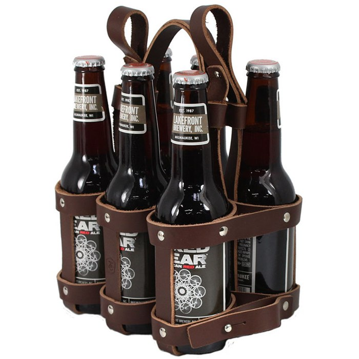 Fyxation - Leather 6 Pack Caddy