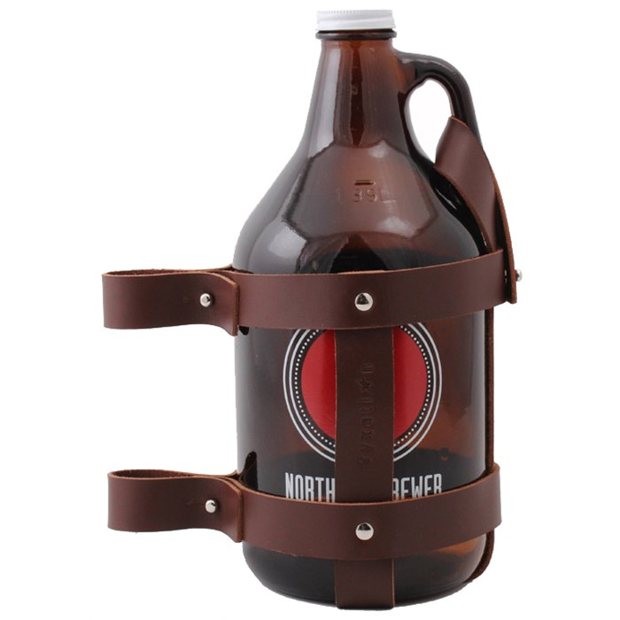 Fyxation - Leather Growler Holder