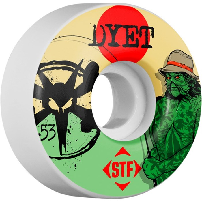 Bones - Dyet Swamp Thing Skateboard Wheels