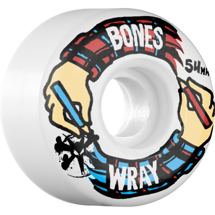 Bones - Wray Hands 83b Skateboard Wheels