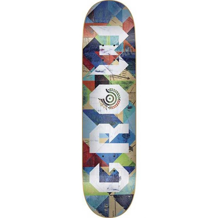 Organika - Grow Abstract Skateboard Deck