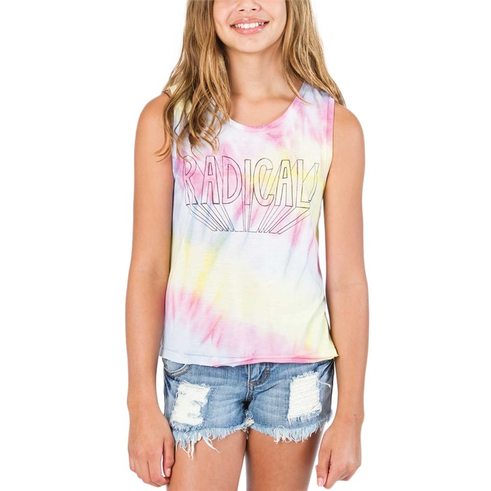 Billabong - Hippie Skies Tank Top (Ages 8-14) - Girl's