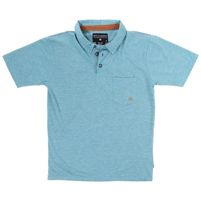 Billabong - Standard Issue Short Sleeve Polo Shirt (Ages 8-14) - Boy's