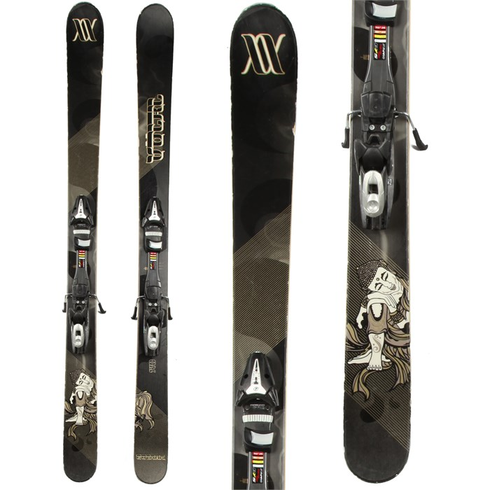 Volkl - Gotama Skis + Tyrolia SP 100 Demo Bindings - Used 2012