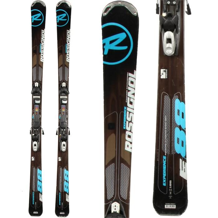 Rossignol - Experience 88 Skis + Tyrolia SP 100 Demo Bindings - Used 2012
