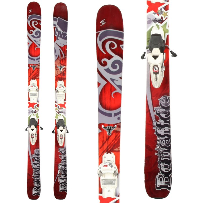Blizzard - Bonafide Skis + Marker Griffon Demo Bindings - Used 2012
