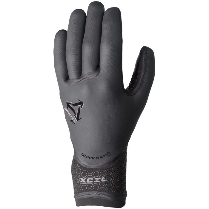 XCEL - Drylock 3mm 5-Finger Gloves