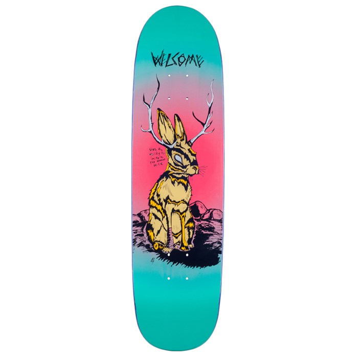 Welcome - Jackalope 8.5 On Sylphstick Skateboard Deck