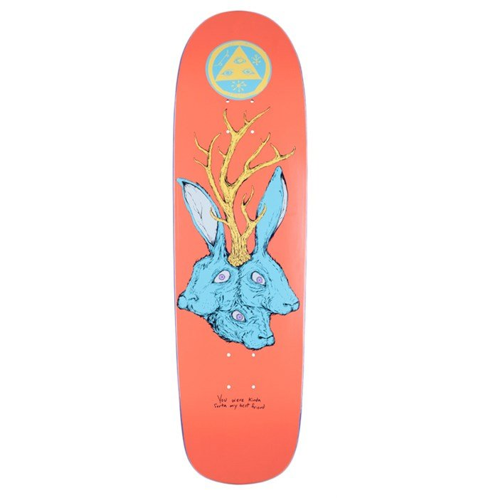 Welcome - Bunny Heads 8.8 On Planchette Skateboard Deck
