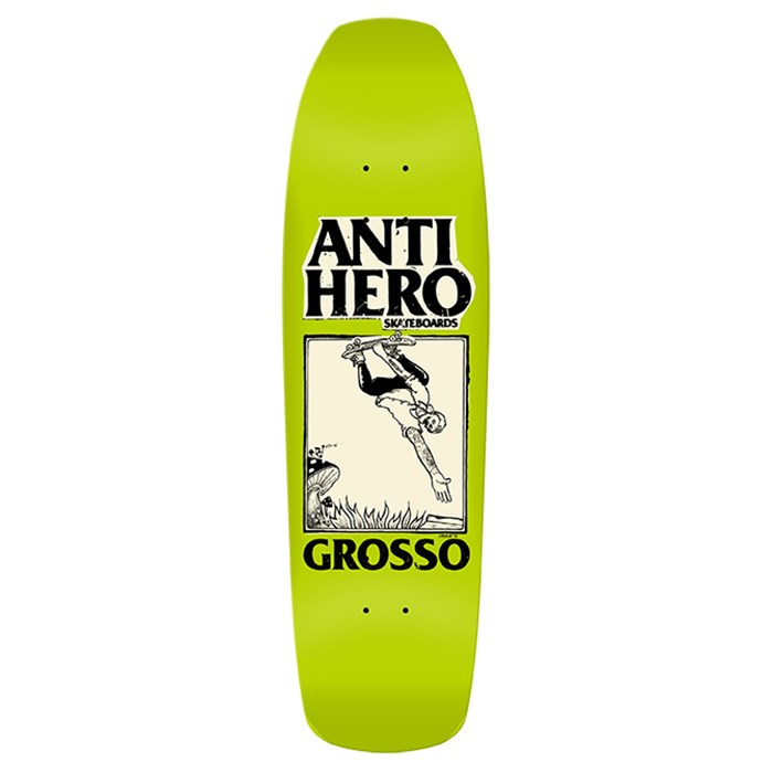 Anti Hero - Grosso Lance Mountain Guest Art 9.25 Skateboard Deck