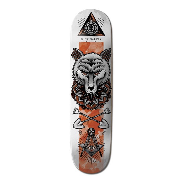 Element - Garcia In Bloom 7.75 Skateboard Deck